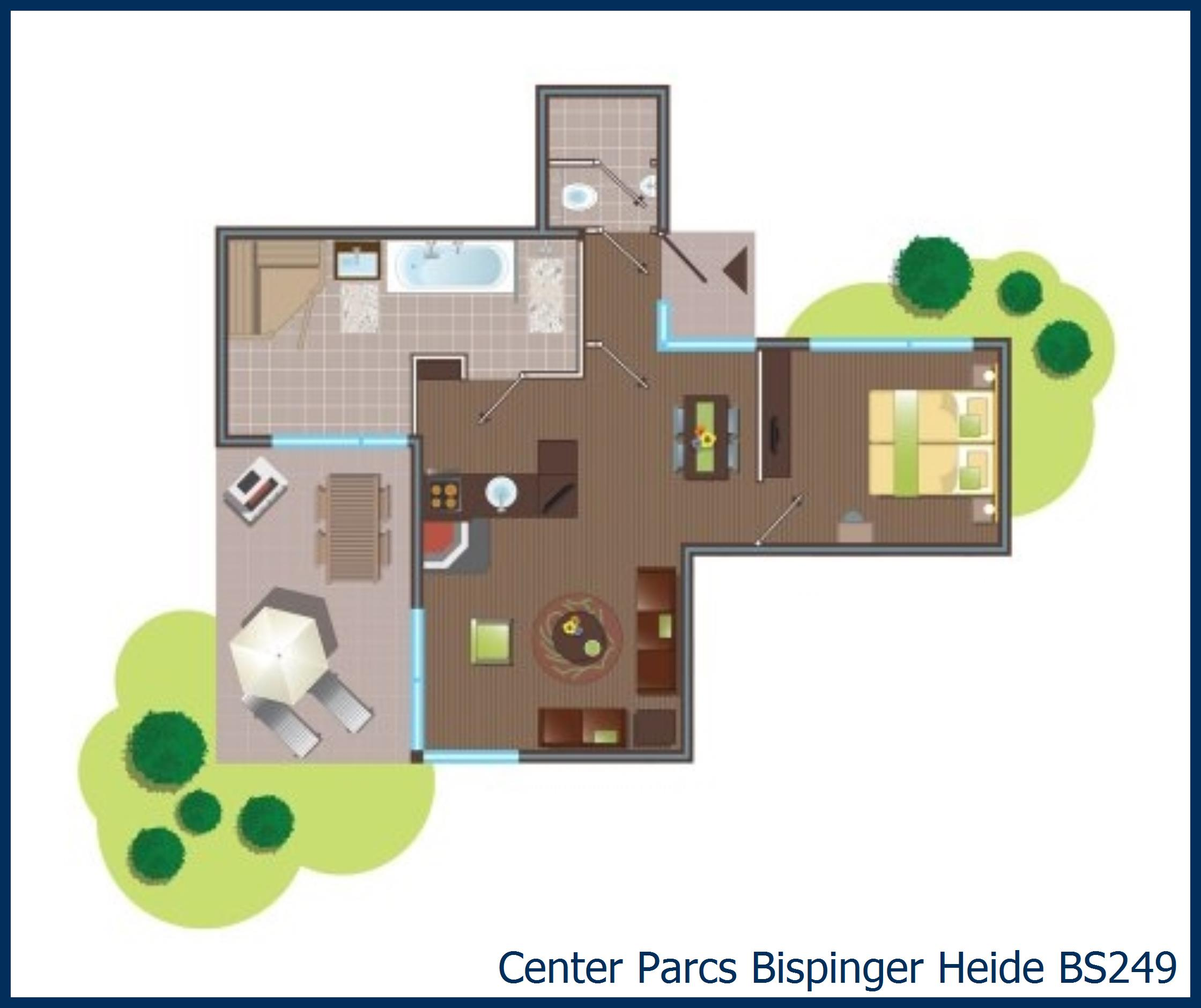 VIP cottage BS249 in Bispinger Heide