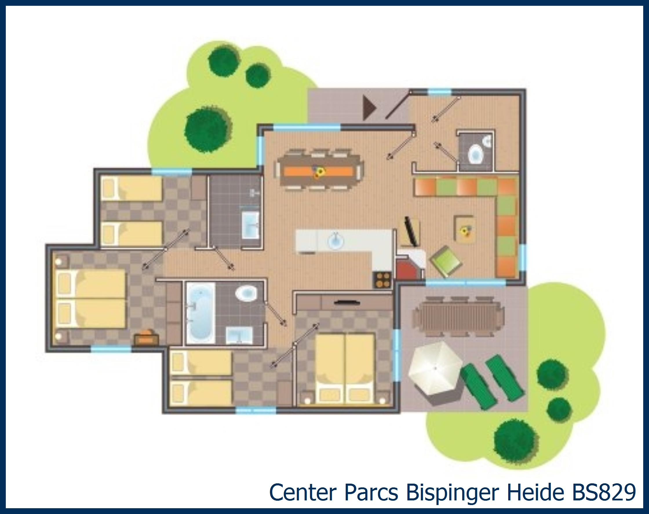 Premium cottage BS829 in Bispinger Heide