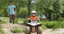 Mini Quad rijden in Center Parcs Bispinger Heide