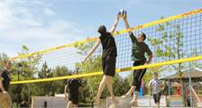 Strandvolleybal (outdoor) in Center Parcs Bispinger Heide