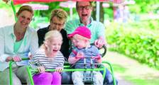 Family Bike in Center Parcs Bispinger Heide