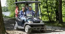 E-cars in Center Parcs Bispinger Heide