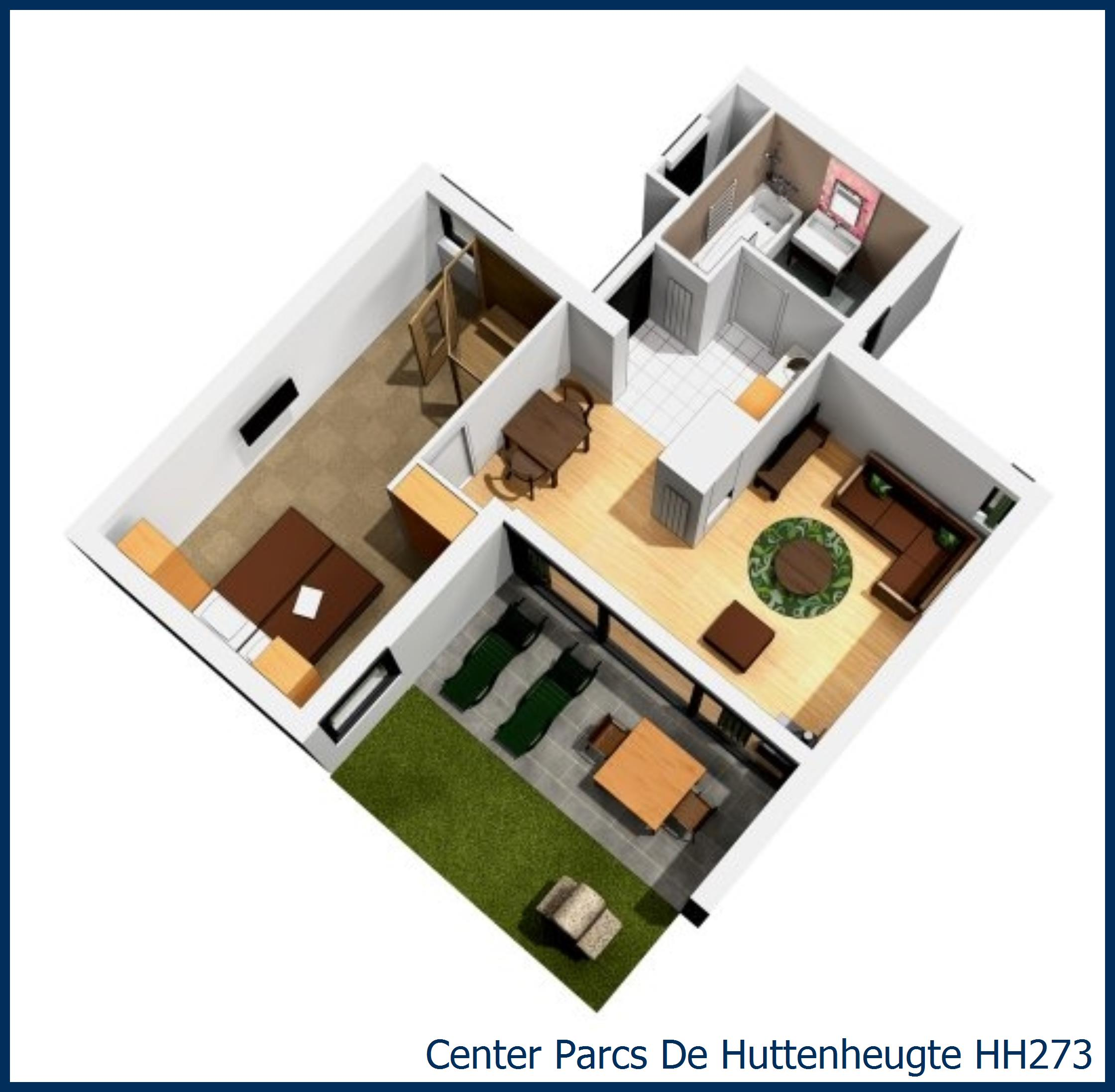 VIP cottage HH273 in De Huttenheugte