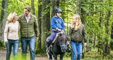 Pony Wandeling in Center Parcs De Vossemeren