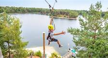 Zip Wire in Center Parcs De Vossemeren