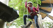 High Adventure Experience (indoor) in Center Parcs De Vossemeren
