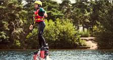 Flyboarden in Center Parcs De Vossemeren