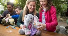 Kids Workshop: Maak je eigen knuffel in Center Parcs De Vossemeren