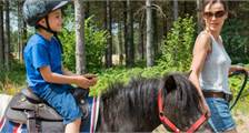 Ponyrijden in Center Parcs De Vossemeren